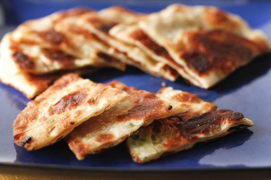 Scallion pancakes. Photo: Craig Lee, Special To The Chronicle