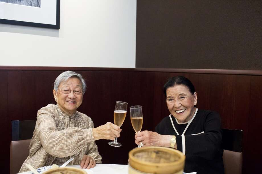 Florence Lin and Cecilia Chiang are two of the most influential Chinese cooks in the world. Both are well into their 90s. Cecilia founded the Mandarin restaurant in Ghirardelli Square, and has mentored countless of Chinese chefs, along with writing several cookbooks and two memoirs. Florence, a longtime New York resident, had the same effect on the East Coast, writing several cookbooks that made Chinese cooking accessible to Westerners. They met for the first time at Yank Sing in San Francisco. Photo: Jason Henry, Special To The Chronicle