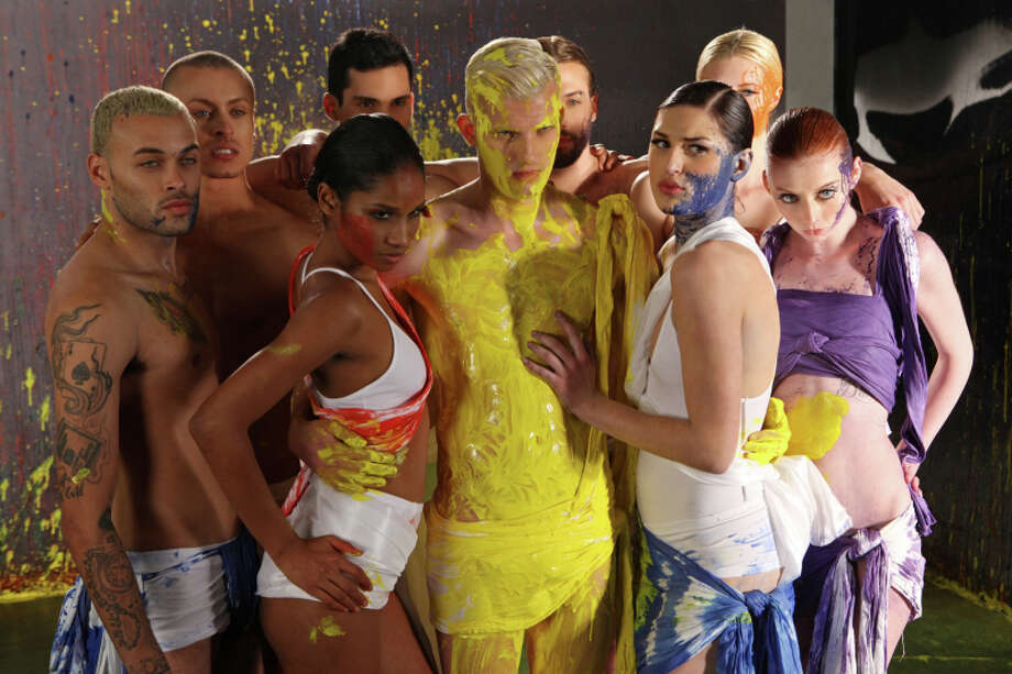 "America's Next Top Model -- ""The Guy Who Cries"" pictured left to right: Don, Cory, Renee, Marvin, Chris H., Phil, Jiana, Jourdan and Nina  Cycle 20 Photo: Patrick Wymore/The CW ©2013 The CW Network, LLC. All Rights Reserved Photo: Patrick Wymore, THE CW / ©2013 The CW Network, LLC. All Rights Reserved"