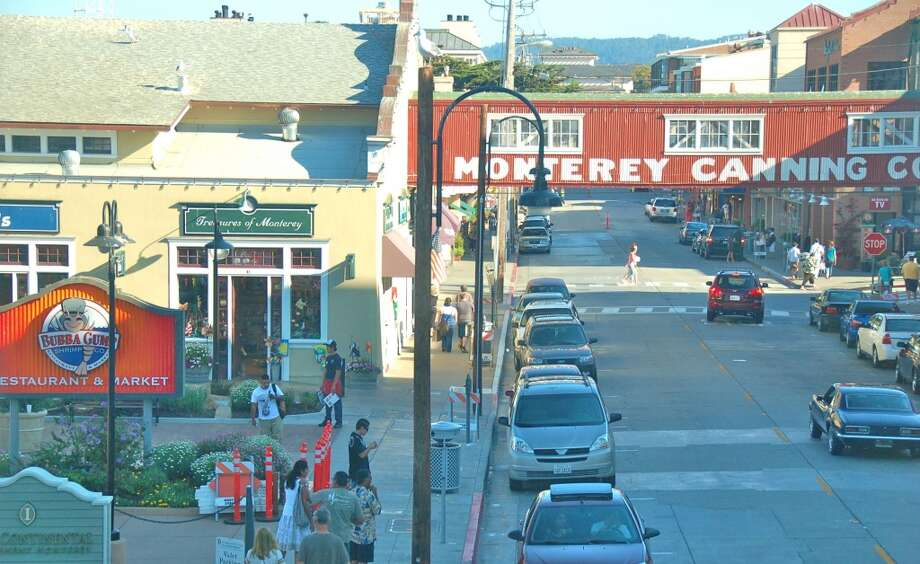 Cannery Row is full of restaurants, but only a handful offer dishes with local seafood. Photo: Jeanne Cooper, Special To SFGate