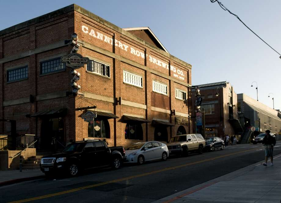 The restaurant Cannery Row Brewing Company in Monterey. Photo: Chad Ziemendorf, The Chronicle