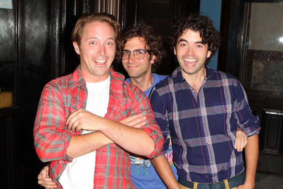 NEW IN FALL 2013:Beck Bennett (left) and Kyle Mooney (center). Photo: Joe Scarnici, WireImage / 2010 Joe Scarnici