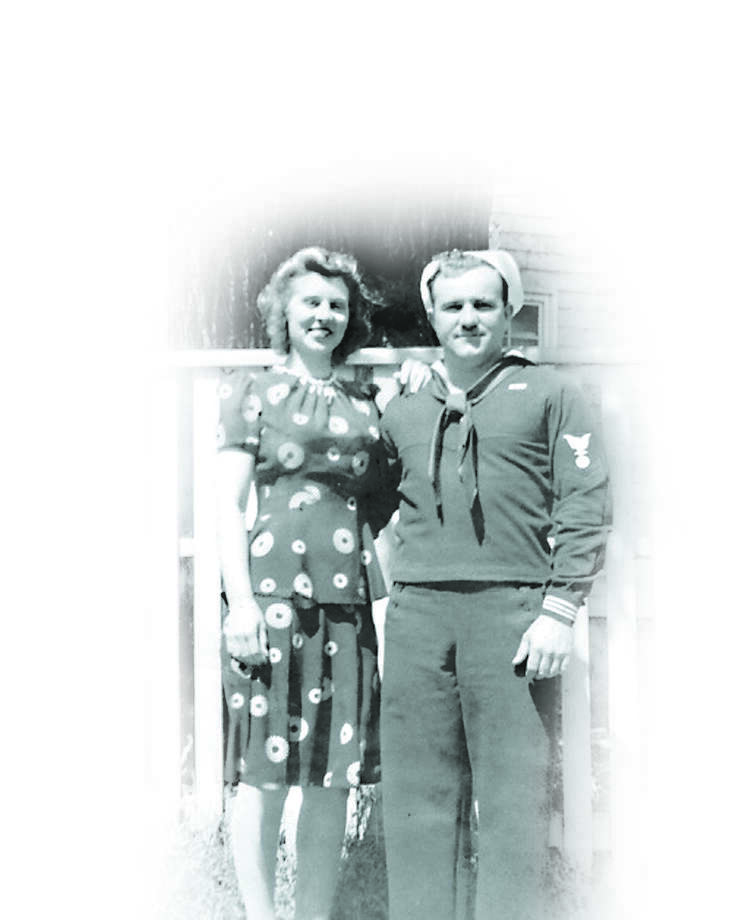 The couple appear in a 1942 photo in Arkansas. Photo: Courtesy Photo