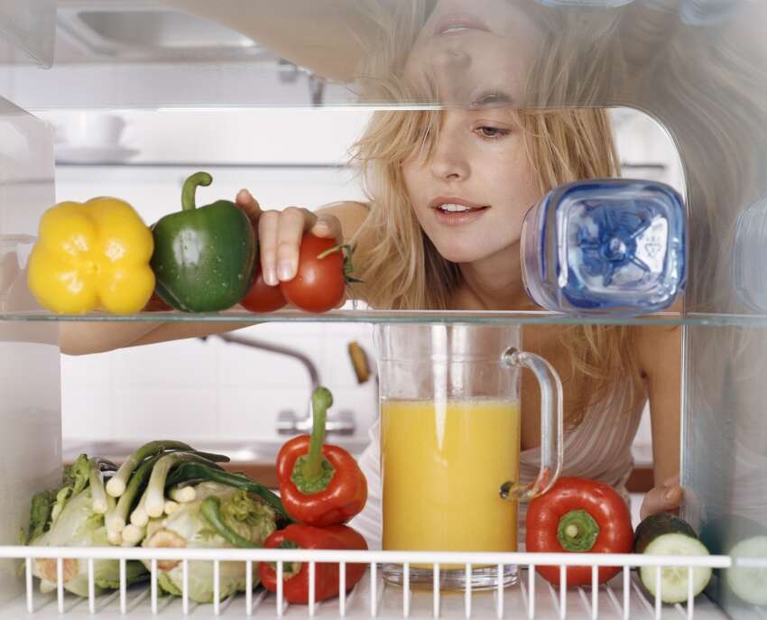 2. Empty your refrigerator, taking out any drawers and shelves Source:CDC