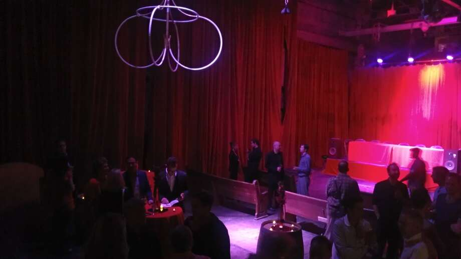 The launch party for the Grand Guignol had a bloody good atmosphere. Photo: Carolyne Zinko, The Chronicle