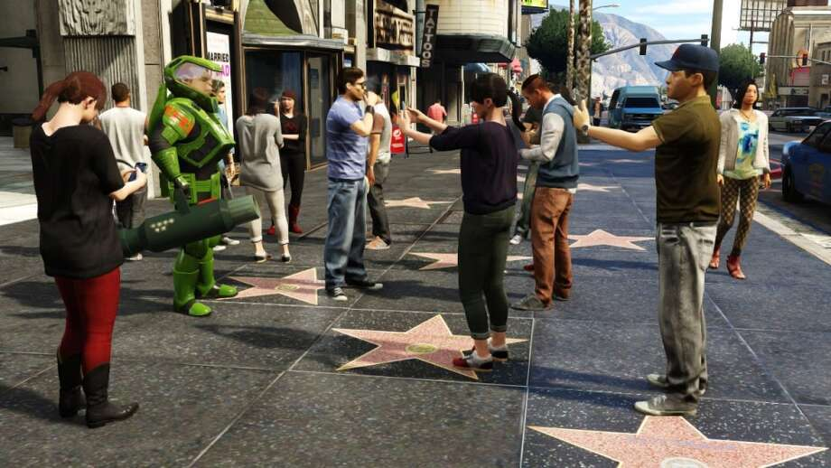 Get your dance on in Grand Theft Auto V.