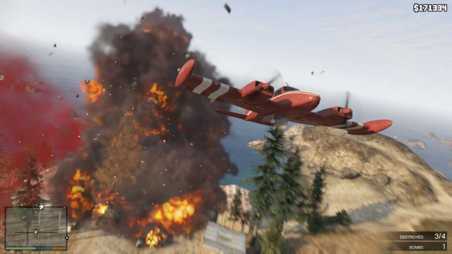 Put out forest fires - or start them in Grand Theft Auto V.
