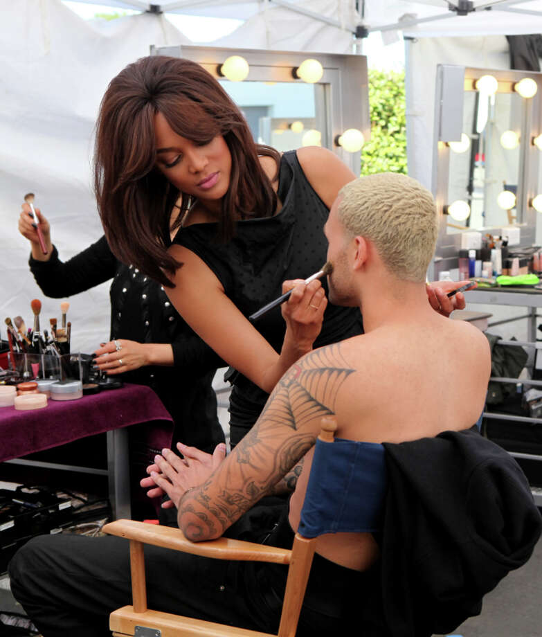 "America's Next Top Model -- ""The Guy Who Cries"" pictured: Tyra Banks and Don Cycle 20 Photo: Patrick Wymore/The CW ©2013 The CW Network, LLC. All Rights Reserved Photo: Patrick Wymore, THE CW / ©2013 The CW Network, LLC. All Rights Reserved"