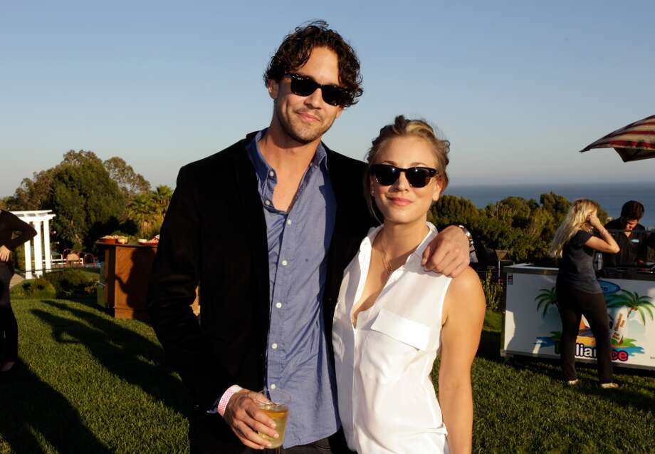 Ryan Sweeting and Kaley Cuoco attend Eddie Vedder and Zach Galifianakis Rock Malibu Fundraiser for EBMRF and Heal EB on September 15, 2013 in Malibu, California.  (Photo by Jeff Vespa/WireImage) Photo: Jeff Vespa, WireImage