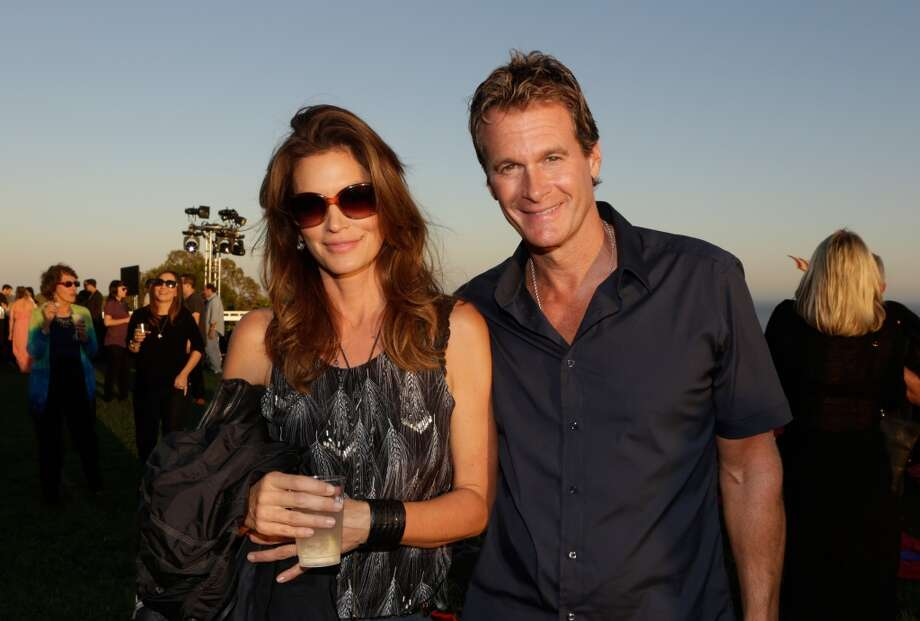 Cindy Crawford and Rande Gerber attend Eddie Vedder and Zach Galifianakis Rock Malibu Fundraiser for EBMRF and Heal EB on September 15, 2013 in Malibu, California.  (Photo by Jeff Vespa/WireImage) Photo: Jeff Vespa, WireImage