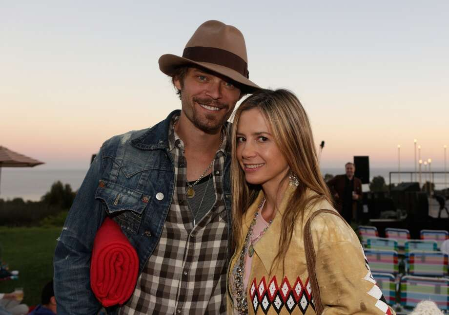 Chris Backus and Mira Sorvino attend Eddie Vedder and Zach Galifianakis Rock Malibu Fundraiser for EBMRF and Heal EB on September 15, 2013 in Malibu, California.  (Photo by Jeff Vespa/WireImage) Photo: Jeff Vespa, WireImage