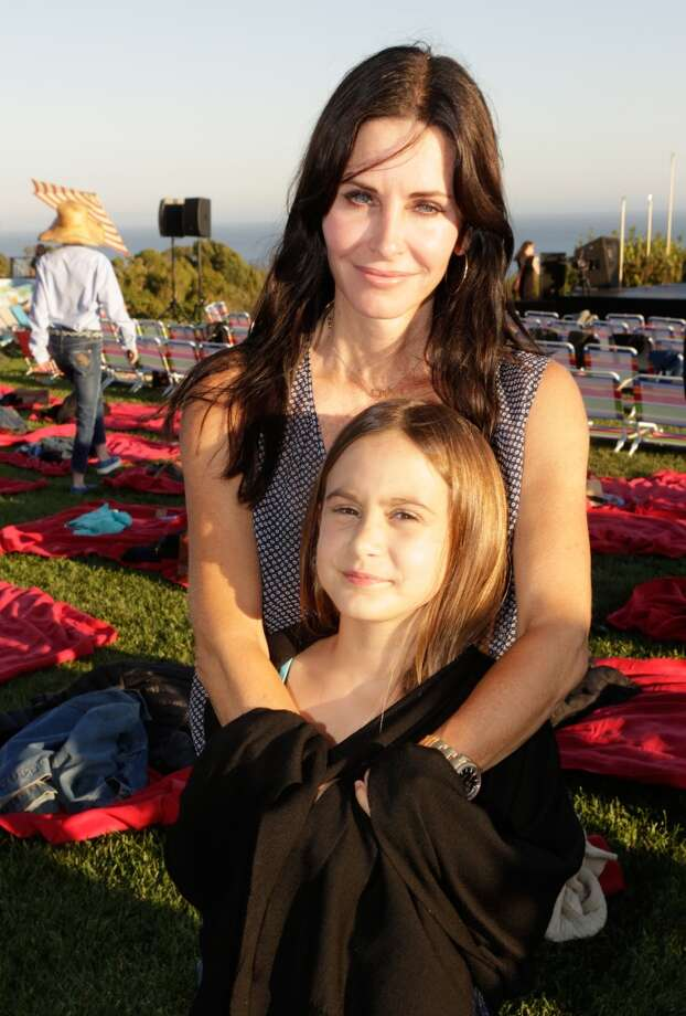 Courtney Cox and daughter Coco attend Eddie Vedder and Zach Galifianakis Rock Malibu Fundraiser for EBMRF and Heal EB on September 15, 2013 in Malibu, California.  (Photo by Jeff Vespa/WireImage) Photo: Jeff Vespa, WireImage