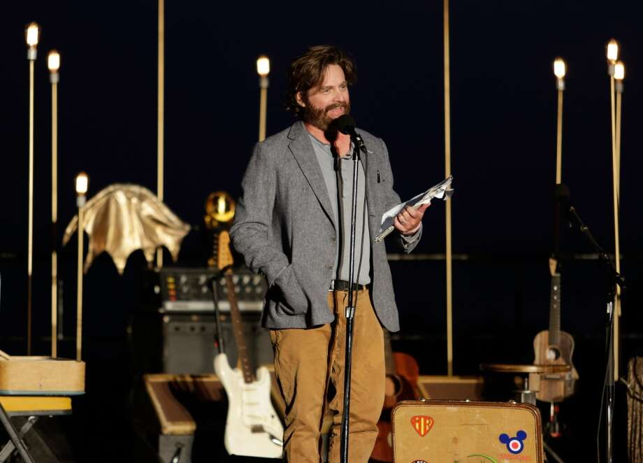 Zach Galifianakis attends Eddie Vedder and Zach Galifianakis Rock Malibu Fundraiser for EBMRF and Heal EB on September 15, 2013 in Malibu, California.  (Photo by Jeff Vespa/WireImage) Photo: Jeff Vespa, WireImage