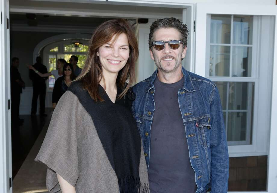 Jeanne Tripplehorn and Leland Orser attend Eddie Vedder and Zach Galifianakis Rock Malibu Fundraiser for EBMRF and Heal EB on September 15, 2013 in Malibu, California.  (Photo by Jeff Vespa/WireImage) Photo: Jeff Vespa, WireImage