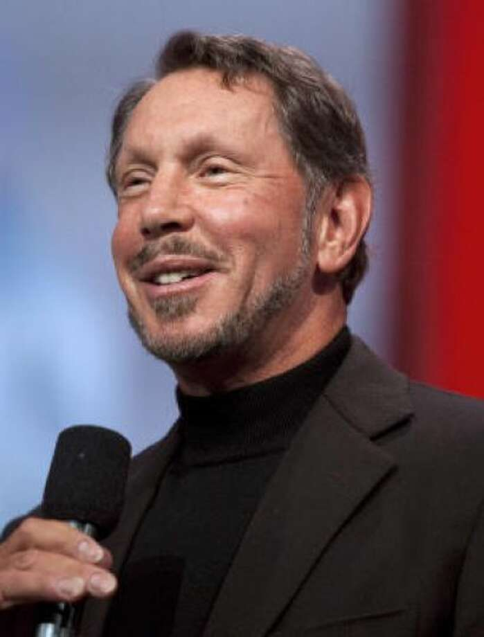 No.3 Larry Ellison  Ellison is worth an estimated $41 billion, according to Forbes. Photo: KIM WHITE, BLOOMBERG
