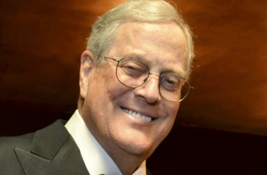 No.4 David Koch  David Koch is worth an estimated $36 billion, according to Forbes. Photo: AMANDA GORDON, BLOOMBERG