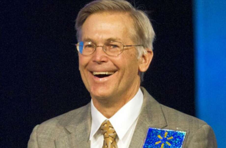No.7 Jim Walton  Jim Walton is worth an estimated $33.8 billion, according to Forbes. Photo: BETH HALL, BLOOMBERG