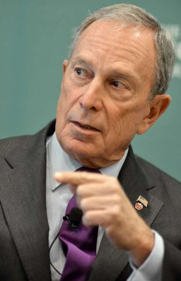 No.10 Michael Bloomberg  Bloomberg is worth an estimated $31 billion, according to Forbes. Photo: JOSH REYNOLDS