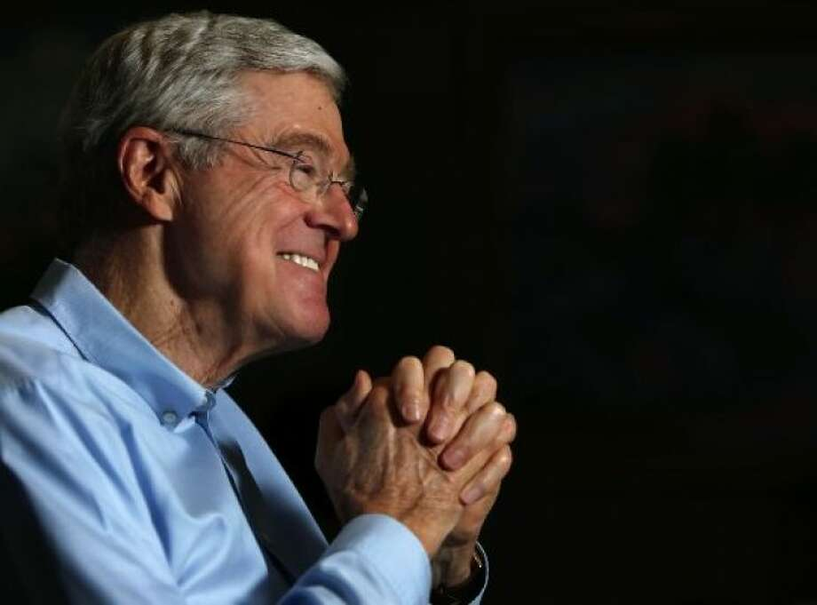 "Charles Koch is worth an estimated $36 billion, according to Forbes magazine.  Brothers Charles and David Koch, massive funders of conservative political causes, are praising ""democratic socialist"" Sen. Bernie Sanders for his opposition to the U.S. Export-Import Bank."