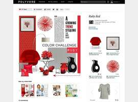 The fashion community site Polyvore has launched a new home and decor vertical to allow its users to post and shop these types of items.