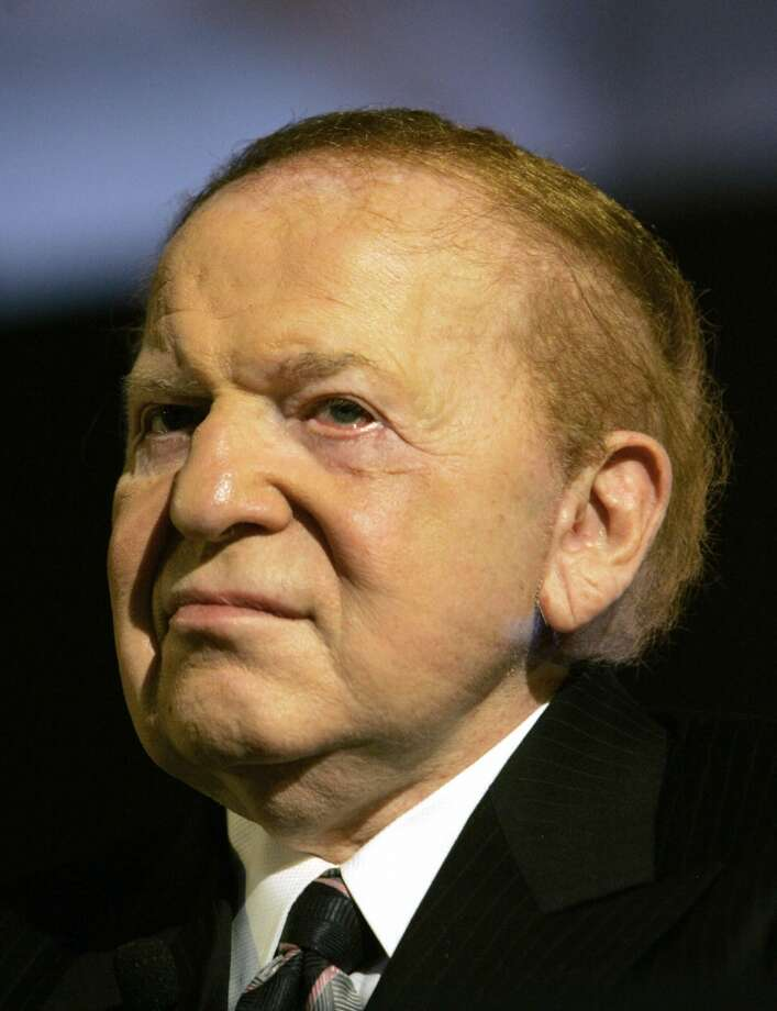 No.11 Sheldon Adelson  Adelson is worth an estimated $28.5 billion, according to Forbes. Photo: KIN CHEUNG, ASSOCIATED PRESS