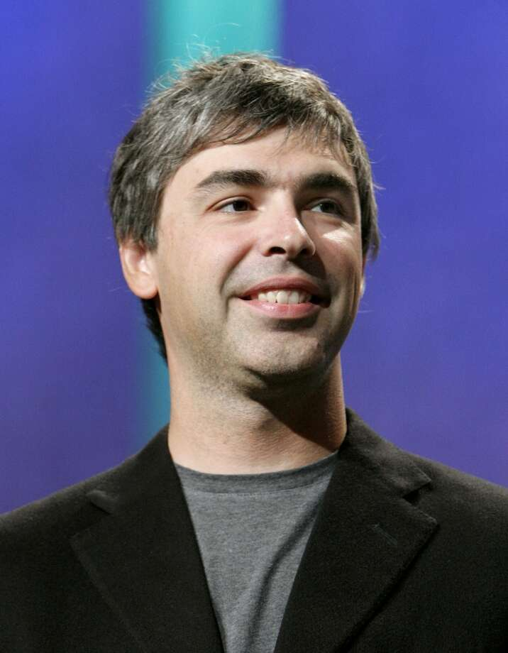 No.13 Larry Page  Page is worth an estimated $24.9 billion, according to Forbes. Photo: Jason DeCrow, AP