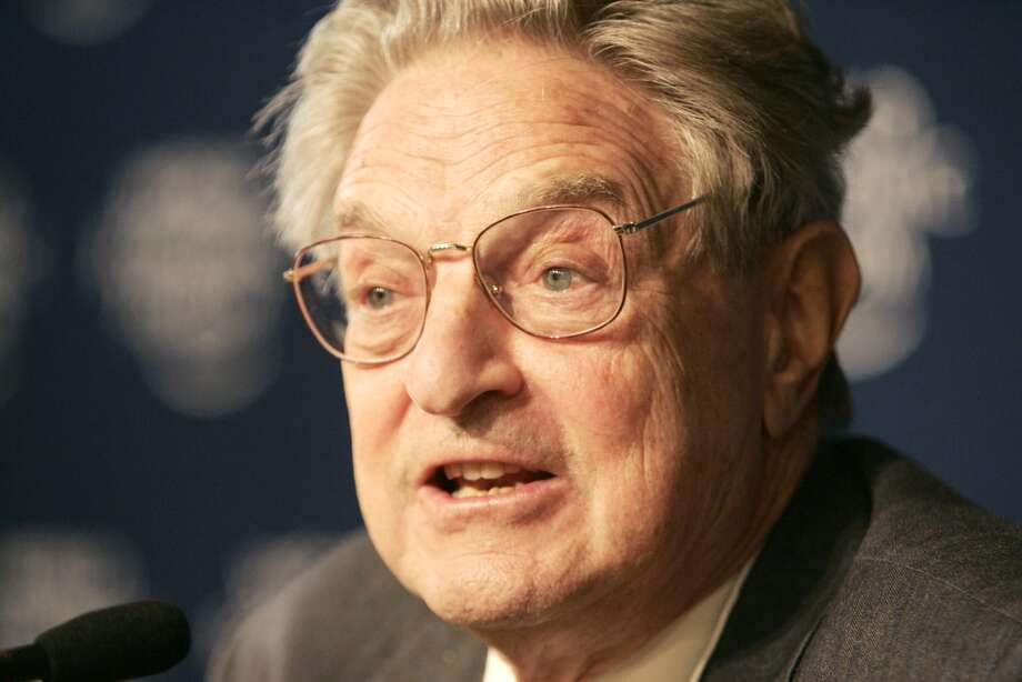 No.19 George Soros  Soros is worth an estimated $20 billion, according to Forbes. Photo: MICHEL EULER, AP
