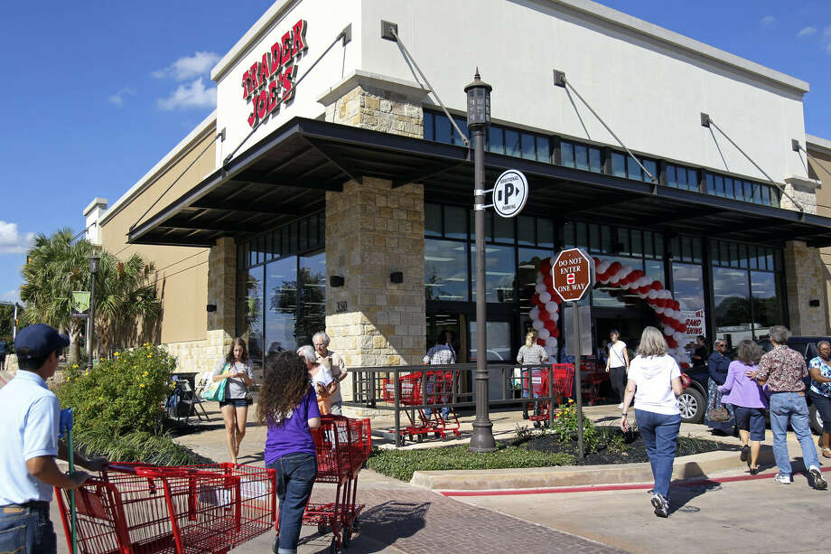 Trader Joe's opened here late last year. The company rounds out the top 10 most trusted companies in the U.S. with 69 percent TTR. Photo: San Antonio Express-News File Photo