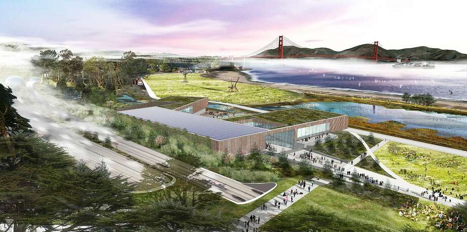 The Bridge, a sustainability institute, is among the proposals for Crissy Field that the Presidio Trust is considering. Photo: Wrns, WRNS