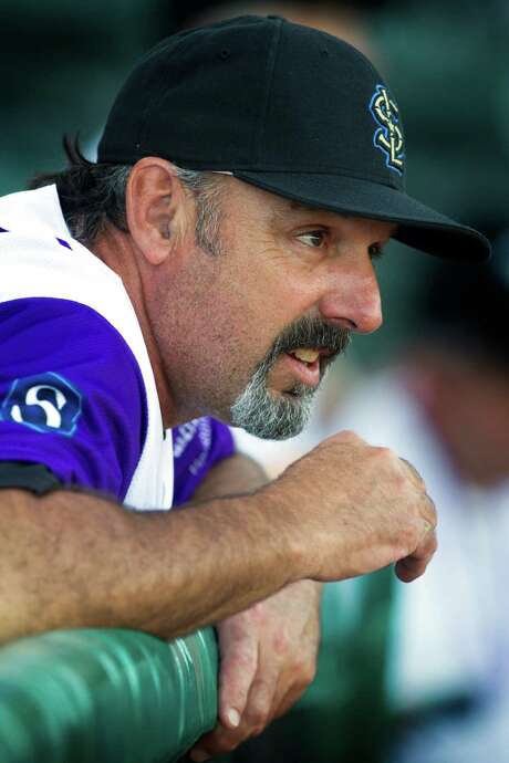 Skeeters manager Gary Gaetti ... Photo: J. Patric Schneider, Freelance / © 2013 Houston Chronicle