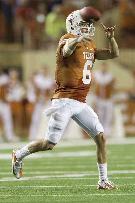 Case McCoy could make his second straight start at QB for UT since David Ash has not been cleared to play. Photo: Cooper Neill / Getty Images