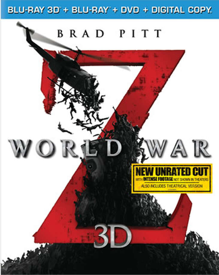 "3DBD cover for ""World War Z"" Photo: Paramount, 2013"