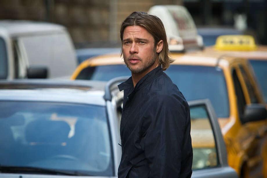 Brad Pitt as Gerry Lane. Photo: Paramount, 2013