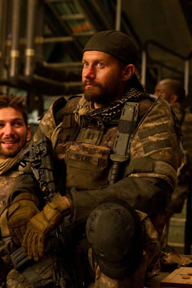 James Badge Dale as Captain Speke at Camp Humphreys, Korea. Photo: Paramount, 2013