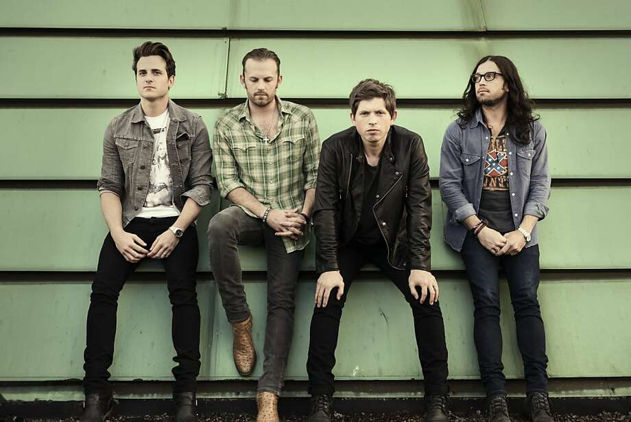Kings of Leon. Photo: Dan Winters, RCA