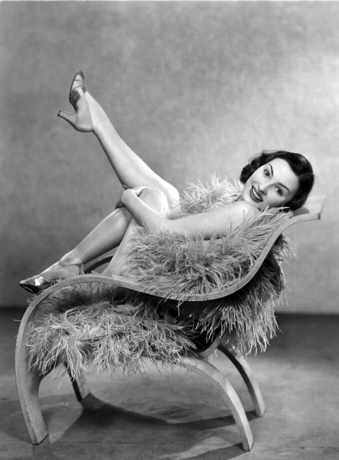 Exhibitionism – There was a time when intimate photos of celebrities was a special treat. Now it's common fare.  Photo: 28th January 1937:  Starlet Enid Dixon-Orr showing off her legs. Photo: Sasha, Getty Images