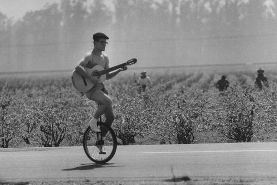 Unicycles, recumbent bikes Photo: Ralph Crane, Time & Life Pictures/Getty Image / Time Life Pictures