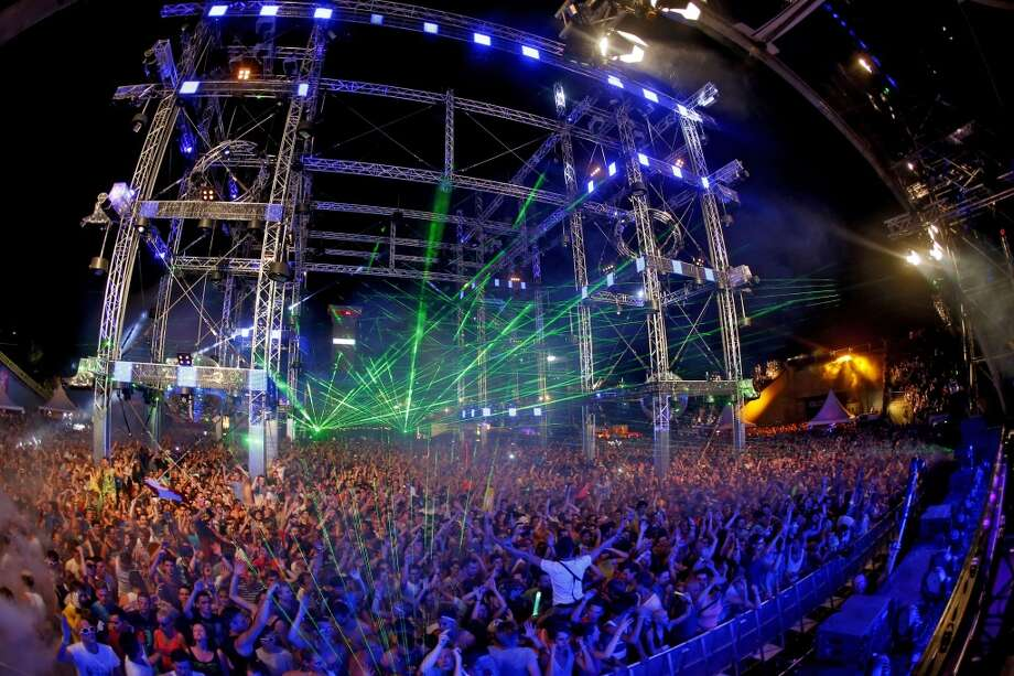 Raving or flopping around to electronic dance music Photo: Thomas Niedermueller, Getty Images