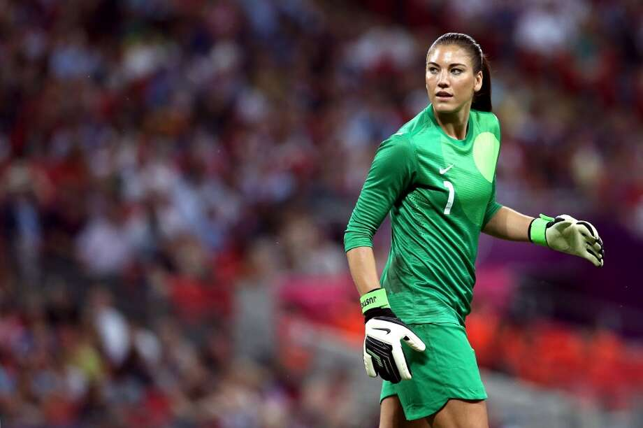 Soccer (in the U.S.)  Photo: Goalkeeper Hope Solo #1 of United States looks on while taking on Japan in the second half during the Women's Football gold medal match on Day 13 of the London 2012 Olympic Games at Wembley Stadium on August 9, 2012 in London, England. Photo: Ronald Martinez, Getty Images