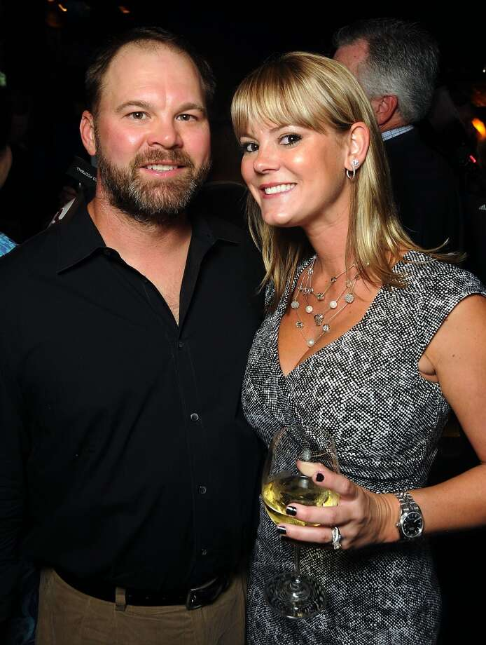 Troy and Brooke Cassels Photo: Dave Rossman, For The Houston Chronicle