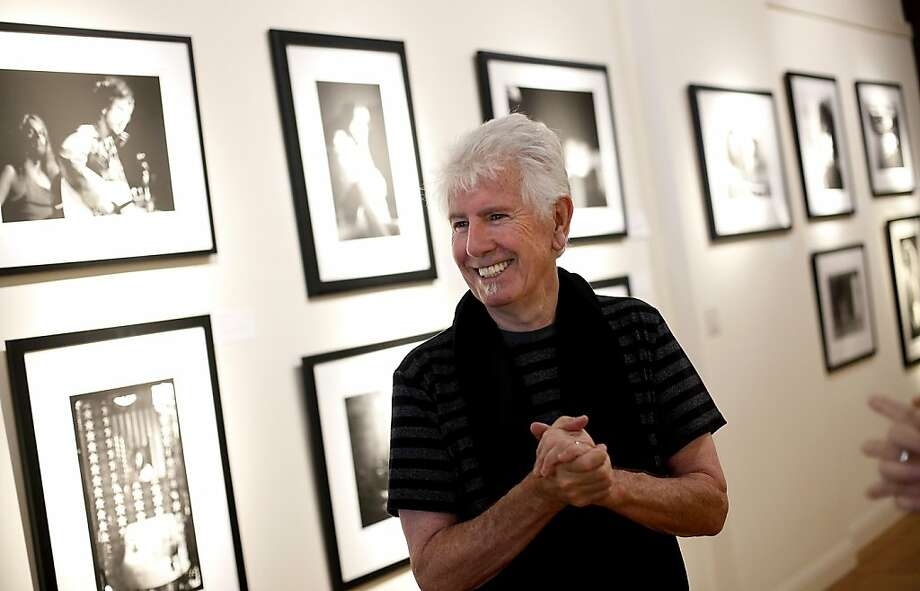 Rock and Roll Hall of Famer Graham Nash shows other facets of his creativity in his San Francisco Art Exchange show. Photo: Sarah Rice, Special To The Chronicle
