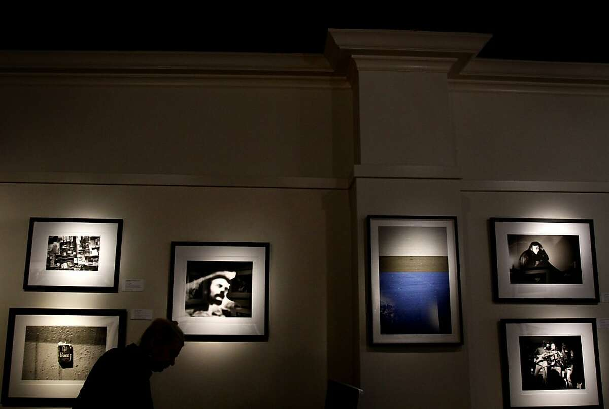 Rock and Roll Hall of Famer Graham Nash just opened a show of his photography and paintings at the San Francisco Art Exchange in San Francisco, Calif., Friday, August 23, 2013.