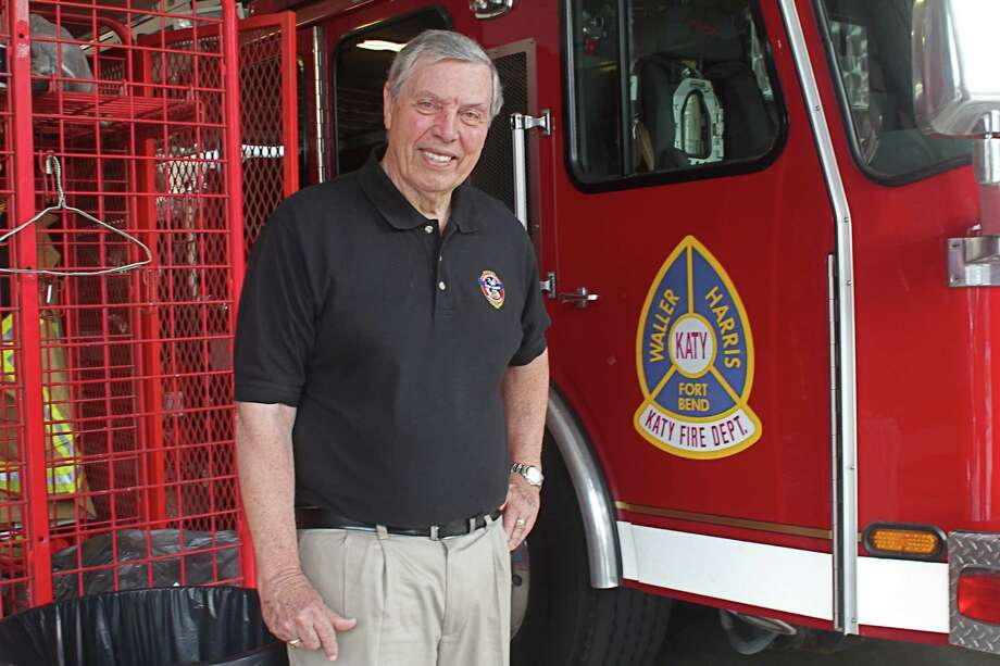 Rufus Summers is interim chief of the Katy Fire Department. Photo: Suzanne Rehak, Freelance Photographer