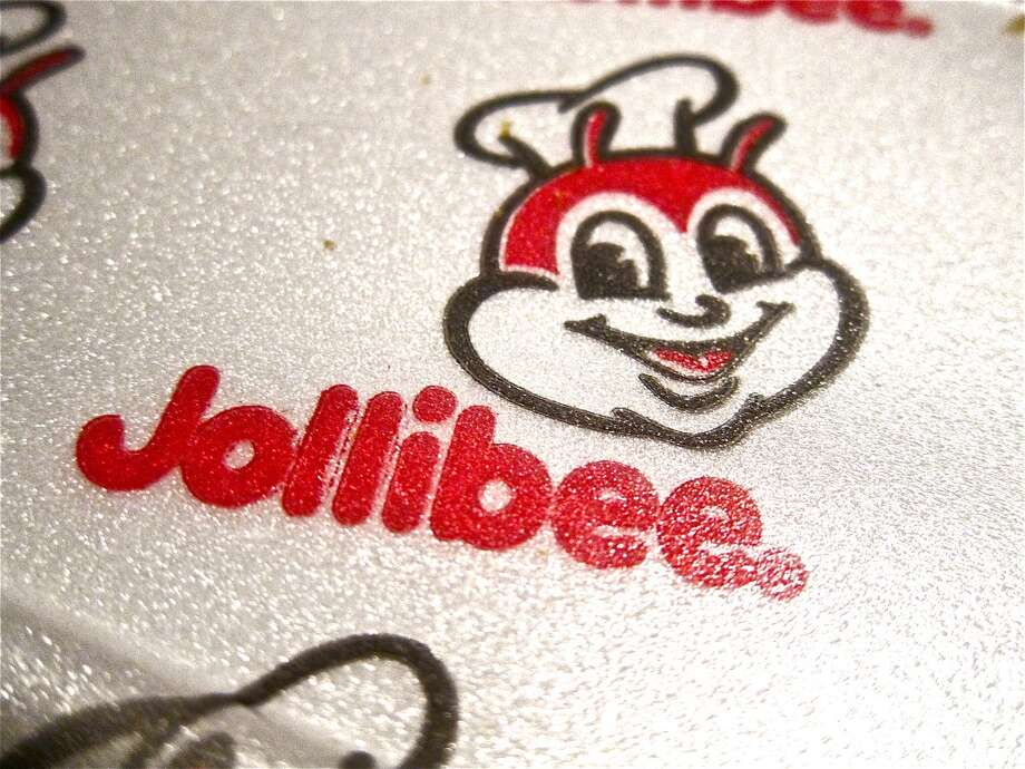 The bee mascot at Jollibee. Photo: Alison Cook