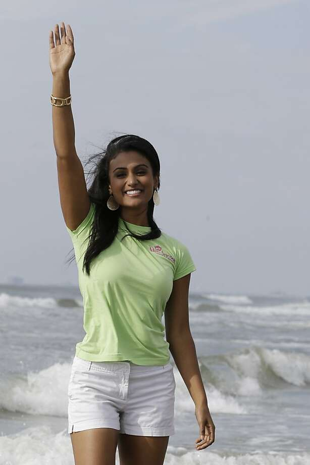 Miss America 2014 Nina Davuluri was crowned in Atlantic City, N.J. Photo: Julio Cortez, Associated Press