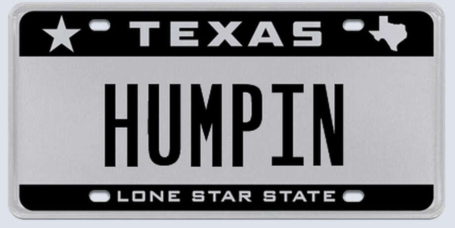 Rejected license plates in Texas - Houston Chronicle