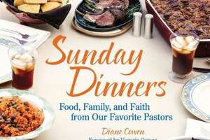 Diane Cowen is the Religion/Food/Health editor at the Houston Chronicle. Her cookbook is entitled `Sunday Dinners -- Food,  Family and Faith from Our Favorite Pastors.'