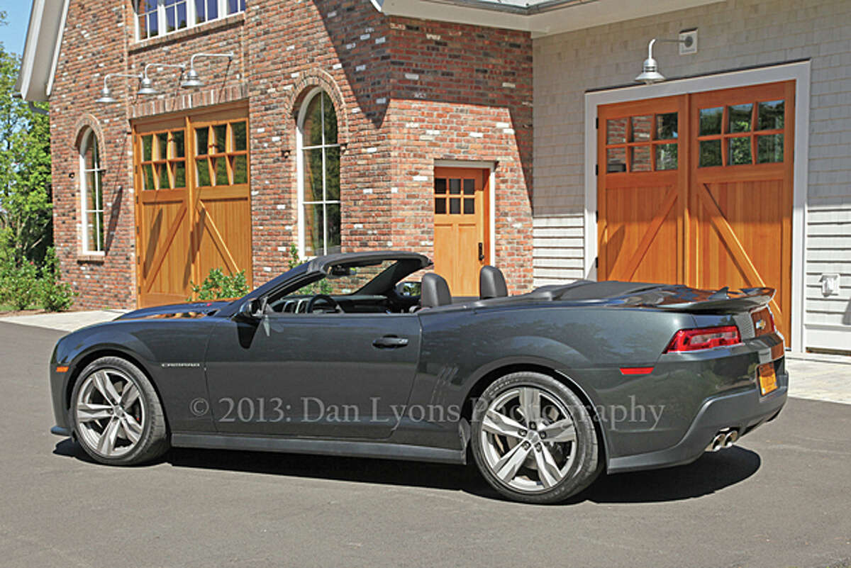 2014 Chevy Camaro ZL1 Convertible (photo by Dan Lyons)
