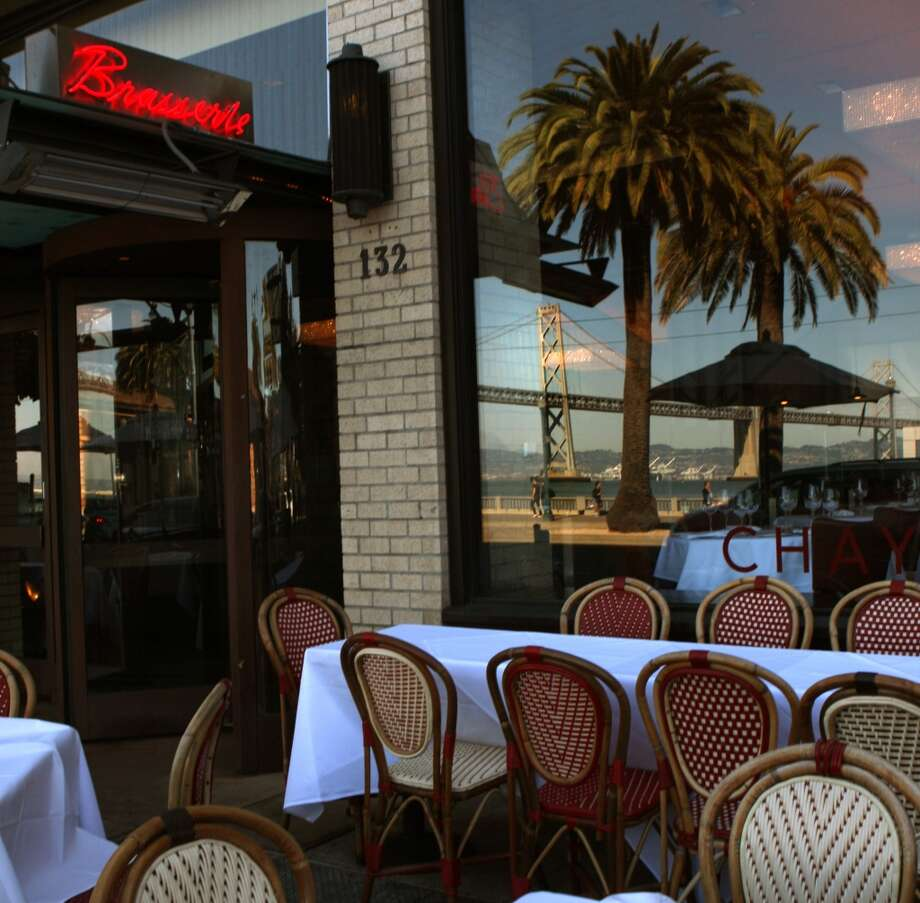 Chaya Brasserie seen on the west side of the Embarcadero. Photo: Liz Hafalia, The Chronicle