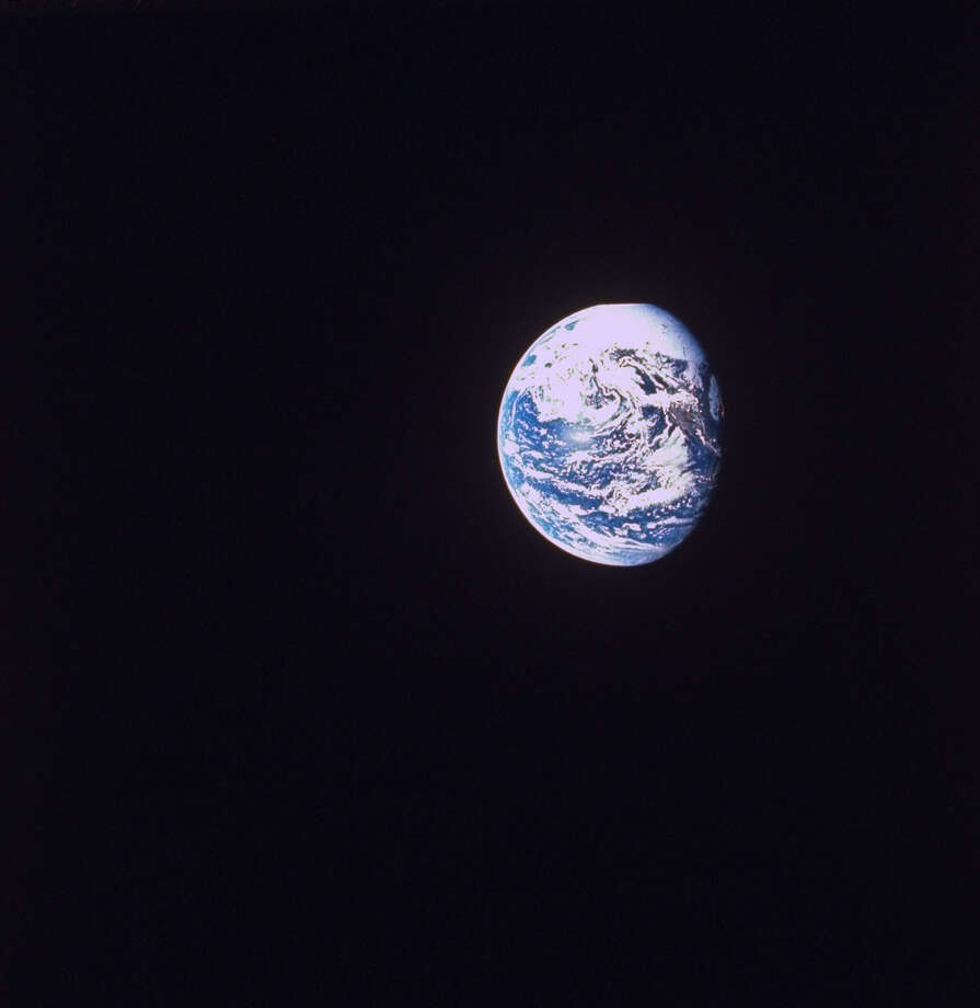 Earth as seen from space during the Apollo 8 mission.  (Photo by NASA/NASA/Time & Life Pictures/Getty Images) Photo: NASA, Multiple / Time & Life Pictures